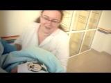 Выписка Ромашки вместе с мамой из перинатального центра 30 августа 2013 г